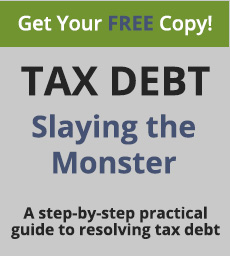 Tax Debt: Slaying the Monster